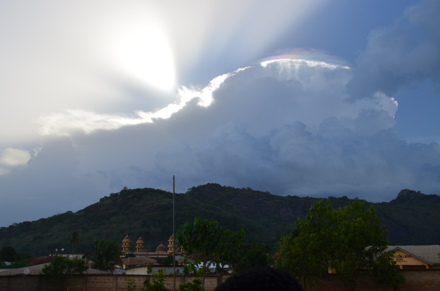 Hilltop and Clouds in Sierra Leone