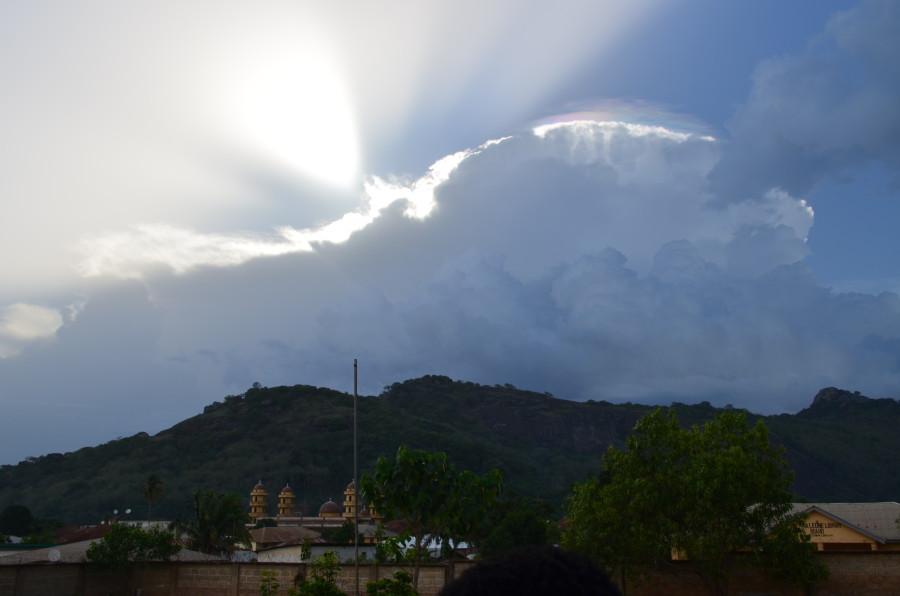 Hilltop and Clouds in Sierra Leone