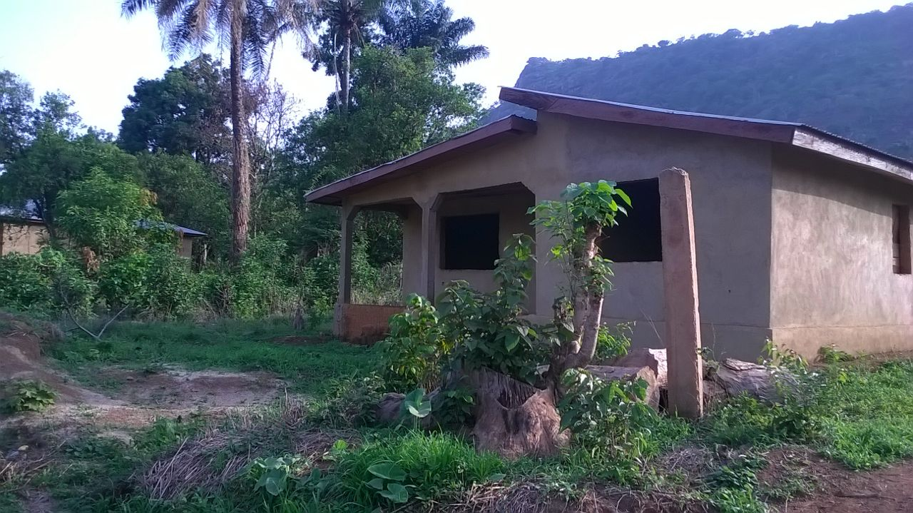 Donated Structure for Learning center